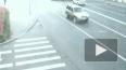Гибель мотоциклиста на Васильевском острове зафиксировала ...
