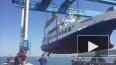 В Анапе во время спуска на воду судно едва не перевернул...