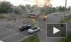 Появилось видео жуткого ДТП в Красноярске