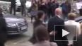 Видео из Германии: Неизвестный пытался напасть на ...