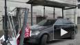 Mercedes влетел в остановку на Миллионной улице