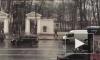 Петербуржцы сняли на видео аномальный снегопад