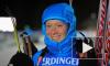 Российские биатлонистки выиграли золото эстафеты в Оберхофе