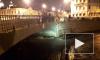 В Петербурге спасатели самоотверженно доставали кота из канала