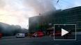 От пожара обрушилась кровля Технологического института