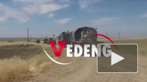 Встречу российского и американского патрулей в Сирии показали на видео