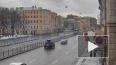 Появилось видео момента ДТП на перекрестке Лиговского ...