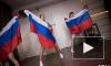 Стриптиз с российскими флагами устроили в Челябинской области