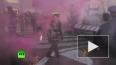 Femen атаковали папский конклав голыми прелестями