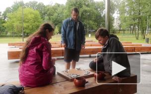 Малый Ильинский сад стал любимым местом отдыха жителей Красногвардейского района