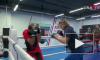 Видео: хоккеисты СКА выступили на ринге против бойцов ММА