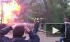 Пожарные не торопились к горящему дому в Петербурге