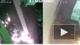 Видео из Кемерово: Недовольный покупатель поджег магазин