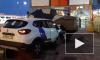 В Петербурге каршеринговый автомобиль протаранил броневик