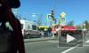 Водители встали в пробку на Выборгском шоссе из-за ДТП с автобусом