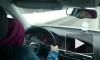 """Видео: восьмилетняя петербурженка выжимает """"соточку"""" на Ауди"""