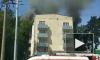 В Москве горит жилой дом