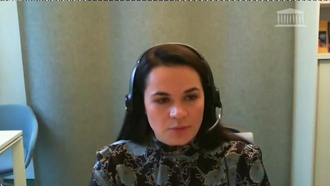 Тихановская призвала расширить санкции против Белоруссии