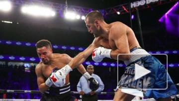 Боксер Сергей Ковалев не смог защитить свои чемпионские титулы