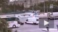 Škoda и скорая не поделили дорогу на перекрестке Ленинск...