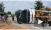 Жуткая трагедия в Китае: автобус рухнул в пруд, захлебнулись маленькие дети