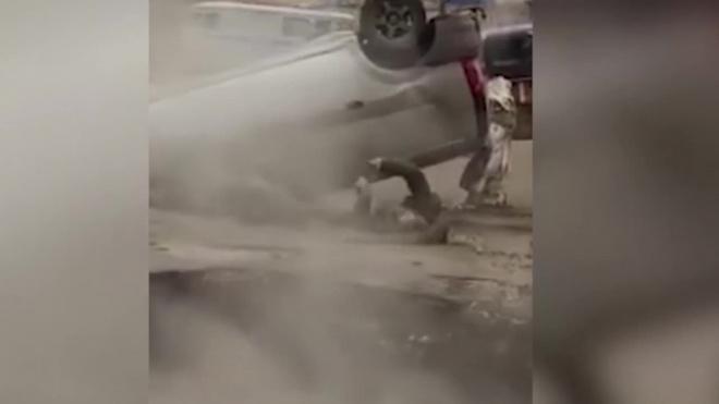 Установлены личности погибших в Пензе, которые провалились в машине в яму с кипятком