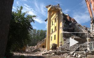 Как сносят здание конструкторского бюро на Лесном проспекте: взгляд Piter.TV