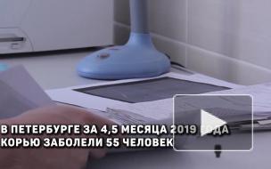 В Петербурге число зарегистрированных случаев кори превысилопрошлогодние показатели