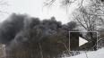 В Петербурге устранили пожар в автосервисе