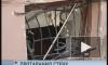 В центре Петербурга легковушка влетела в окно ресторана, пробив стену