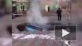Видео: В Красноярске из-за прорыва трубы провалился ...