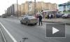 На Шлиссельбургском лихач сбил пешехода на самокате