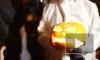 Хэллоуин на Дворцовой: сотни петербуржцев превратились в тыкву