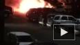 Ночью на Российском проспекте тушили пожар в шашлычной