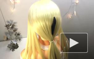 ПРИЧЁСКА ЛЕГКАЯ КОСА В ШКОЛУ ПРИЧЕСКА НА 1 СЕНТЯБРЯ ТОП Hairstyle for school on 1 September Zaitova