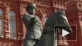 На Манежной площади в Москве заменили памятник маршалу ...