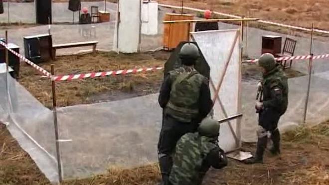Стрельба по движущимся мишеням полюбилась полицейским Петербурга