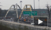 На КАД собралась пробка более 13 км из-за дорожного ремонта и ДТП