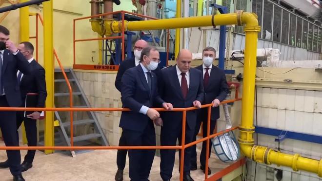 """Мишустин осмотрел в Новосибирске коллайдер ВЭПП-2000 и узнал о поисках """"новой физики"""""""