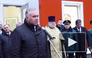 Видео: Дмитрий Никулин о новом пожарном депо в поселке Семиозерье