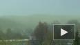 Зеленые облака вызвали панику в Москве