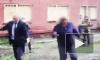 Видео из Омска: Мэр города упала в грязь при осмотре улиц родного города