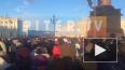 На Дворцовой площади в Петербурге начался траурный ...
