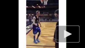 Рональдиньо и баскетбол