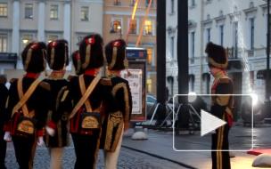 Путину в Михайловском показывают спектакль про футбол