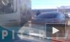Видео: глупое ДТП перегородило дорогу из Гатчины в Торфяное
