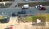 Видео: в Красногвардейском районе вне зоны пешеходного перехода сбили пенсионерку
