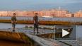 Инженеры ЗВО установили на Неве 140 понтонов