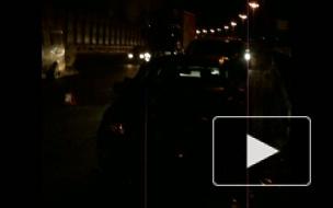 ДТП с участием четырех машин на КАД