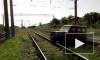 Видео: поезд в хлам разнес автомобиль на Кубани
